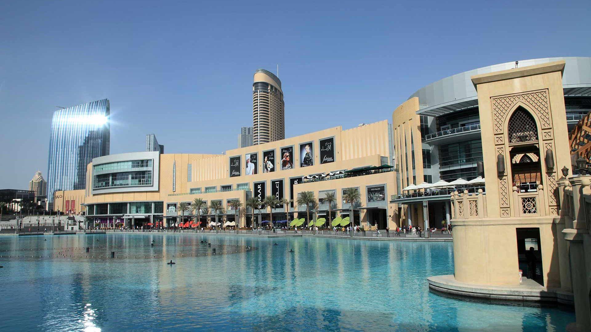 pool dubai mall